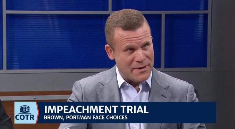 Columbus on the Record: Impeachment Jury Duty Begins for Brown and Portman