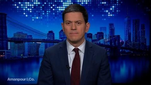 Amanpour and Company -- David Miliband Explains the Humanitarian Crisis in Idlib