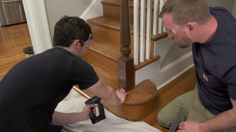 S18 E13: Loose Railing, Smart Thermostat   Ask TOH