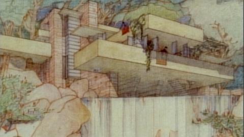 Frank Lloyd Wright -- Designing Fallingwater