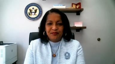 Rep. Jahana Hayes Talks Education Improvements, COVID-19