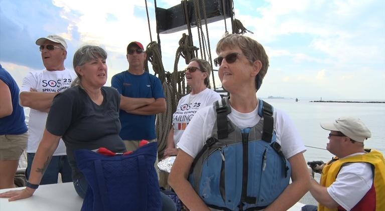 NJTV News: Special Olympic athletes set sail with sailing program