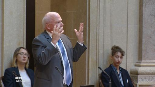 Here and Now : Senate Majority Rejects Ag. Sec. Pfaff and Special Session