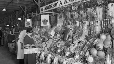 James Beard's mother was at the center of Portland's market.