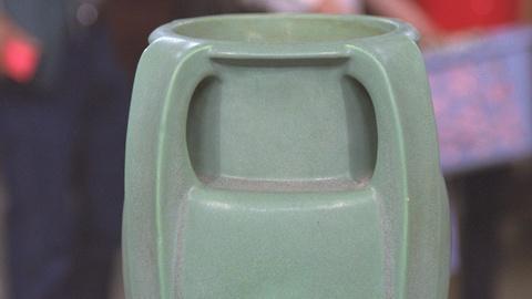 Antiques Roadshow -- S21 Ep19: Appraisal: Teco Vase, ca. 1910