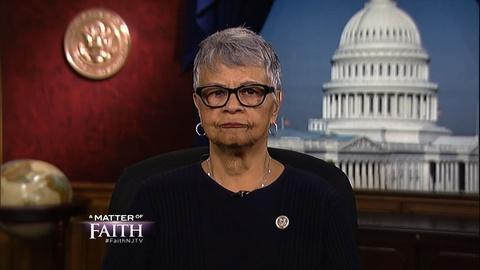 Representative Bonnie Watson Coleman extended interview