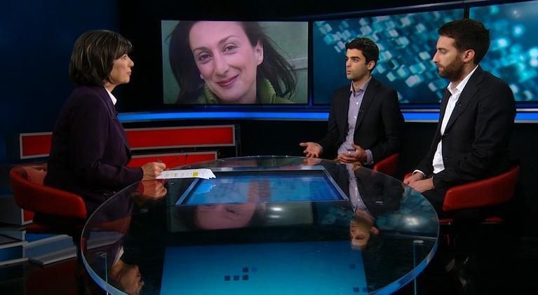 Amanpour on PBS: Amanpour: Jeffrey Feltman, Matthew and Paul Caruana Galizia