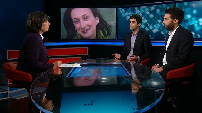 Amanpour on PBS: Amanpour: Jeffrey Feltman, Matthew and Paul Caruana Galizia
