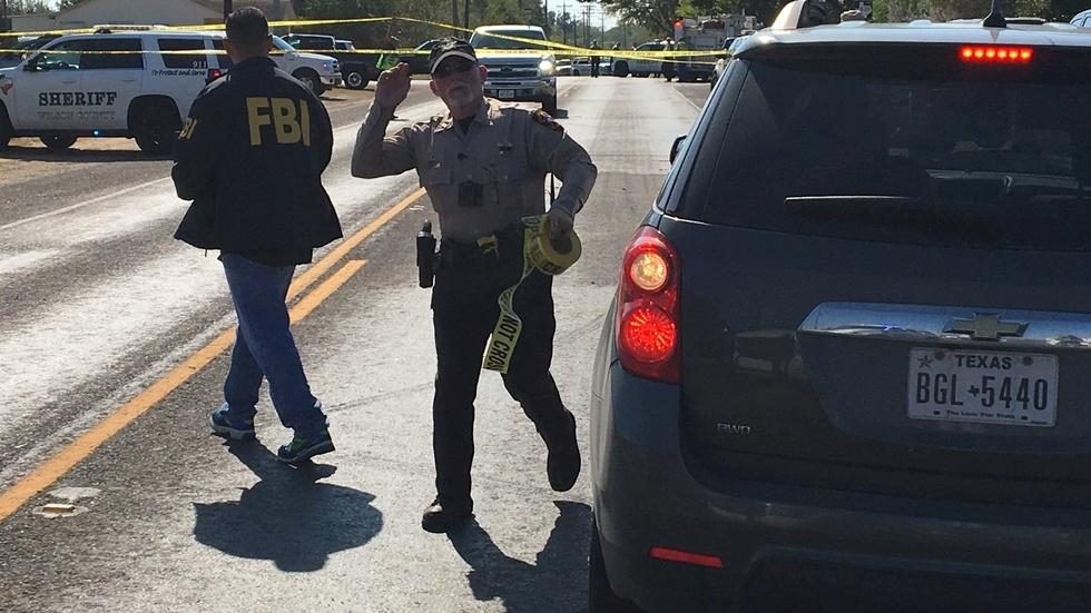 At least 20 killed in South Texas church shooting image