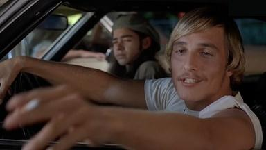 """Linklater and Matthew McConaughey on """"Dazed and Confused"""""""