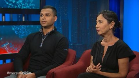 """Amanpour and Company -- Amy Schatz & Taresh Batra on """"In the Shadow of the Towers"""""""
