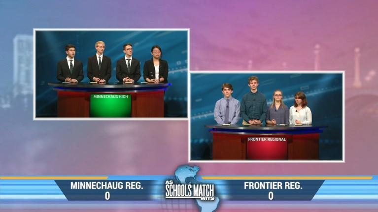 As Schools Match Wits: Minnechaug Regional vs. Frontier Regional (Jan. 11, 2020)