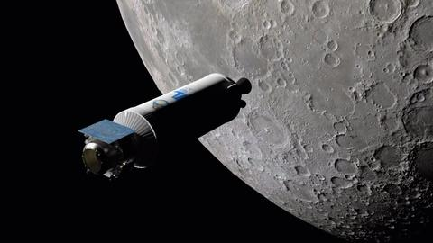 NOVA -- Scientists Launch Rocket into the Moon to Find Water