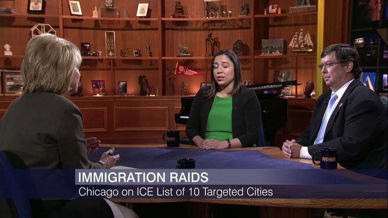 Chicago Tonight: ICE Raids Rattle Chicago's Immigrant Communities