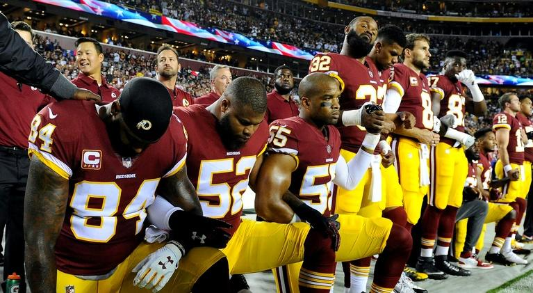 PBS NewsHour: Are new NFL penalties for kneeling purely about business?