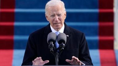 Biden calls for unity, promises better days ahead