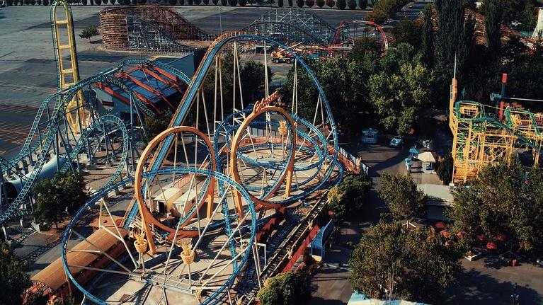 Utah History: Lagoon: Rock and Rollercoasters