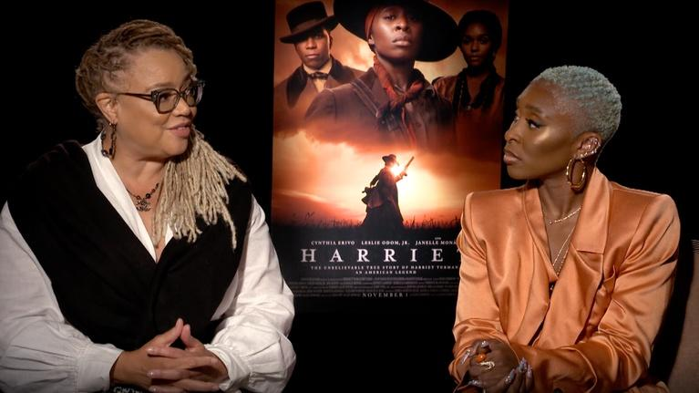 "Flicks: Cynthia Erivo and Kasi Lemmons for ""Harriet"""