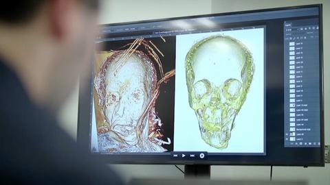 Secrets of the Dead -- Forensic reconstruction reveals a face from history