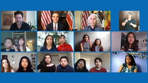 KCET Presents: Mayor Garcetti's Check-In -- Young Angelenos