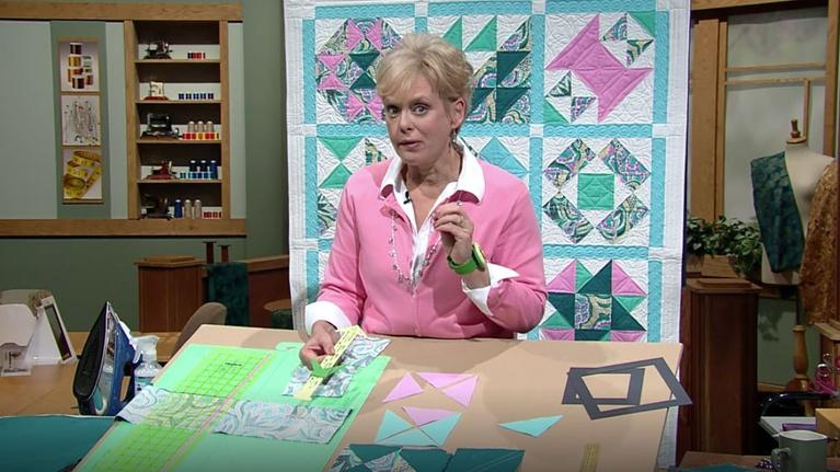 The Best of Sewing with Nancy: Best of SWN: No-Hassle Triangle Quilt Blocks Part 2