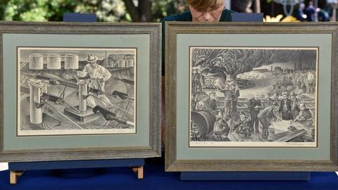 S24 E13: Appraisal: 1940 & 1941 Alexandre Hogue Lithographs