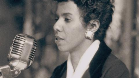 Lorraine Hansberry speaks out against injustice