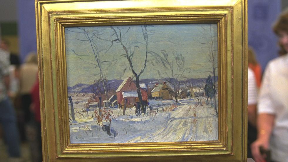 Appraisal: 1930 Walter Emerson Baum Painting image