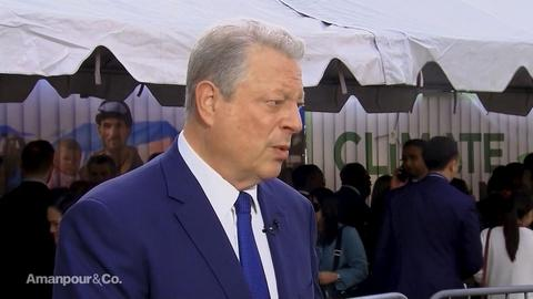 Amanpour and Company -- Al Gore on Whether or Not a Carbon Tax Would Work in the US