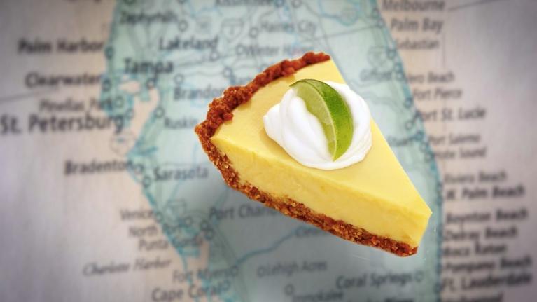 Curious Gulf Coast: Key Lime Pie