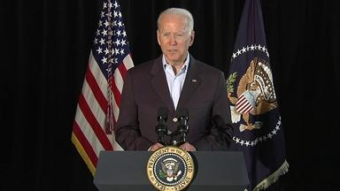 President Biden Visits Surfside After Deadly Collapse