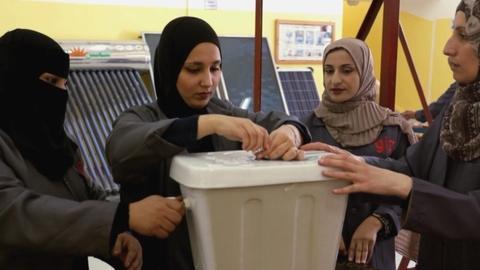 NOVA -- To Save Water, Women in Jordan Learn to Plumb