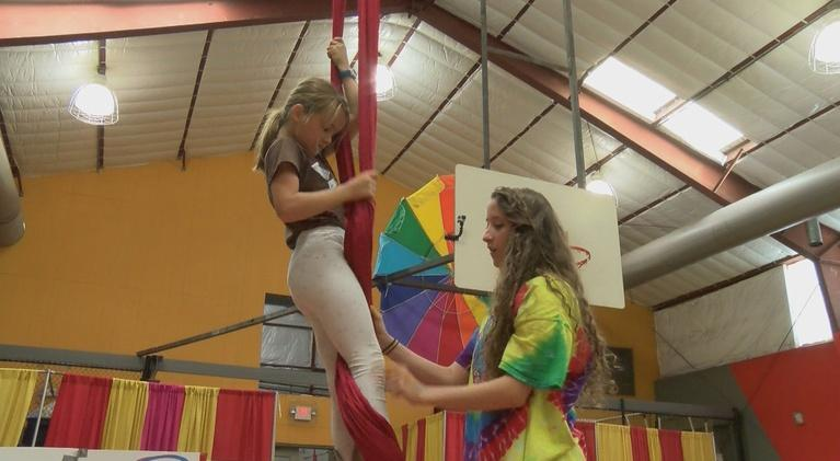 This is Atlanta with Alicia Steele: Circus Camp