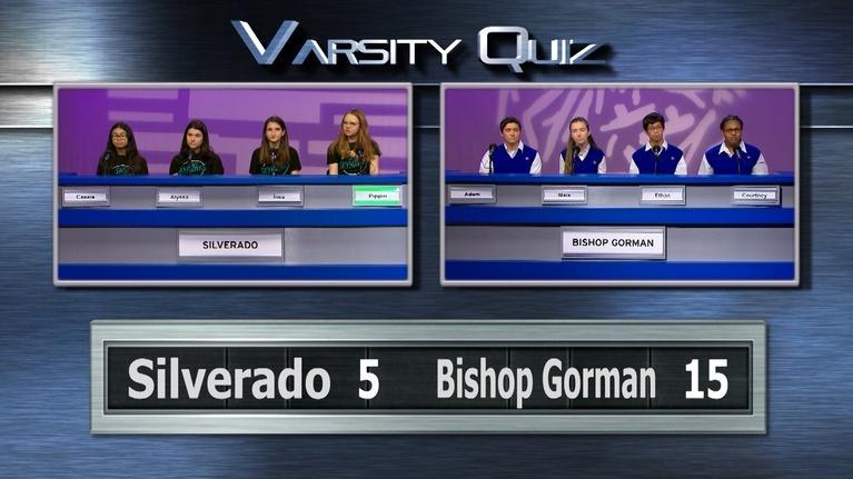 Varsity Quiz from Vegas PBS: Blue League Semifinal I
