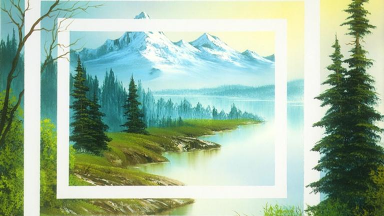 The Best of the Joy of Painting with Bob Ross: Dimensions