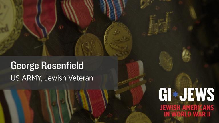 WUCF Veteran's Stories: GI Jews: George Rosenfield's Climb to Glory