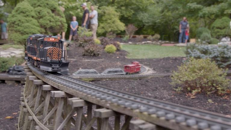 Broad and High: Columbus Garden Railway Society, Replay! Preview
