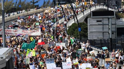 PBS NewsHour -- Youth climate action marches draw millions around the world