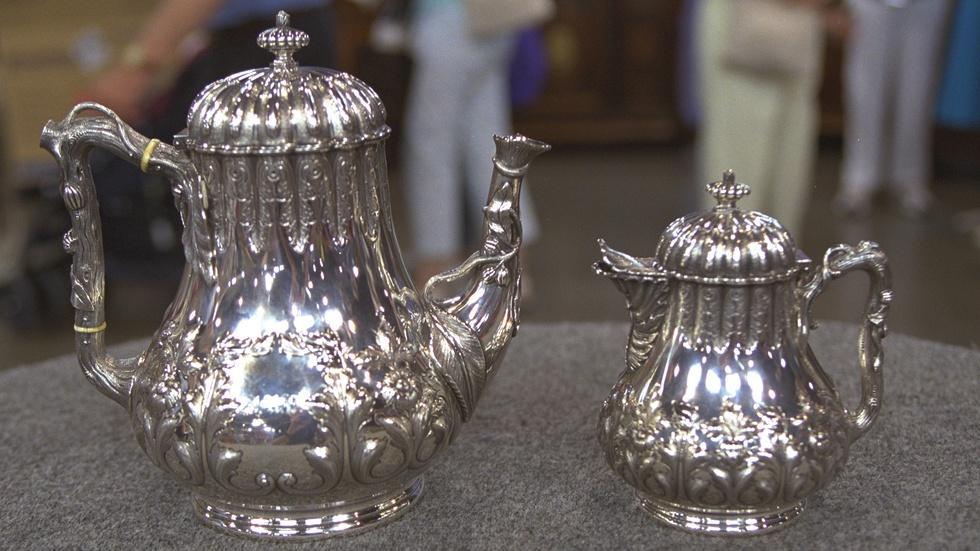 Appraisal: Tiffany & Co. Tea Set, ca. 1855 image