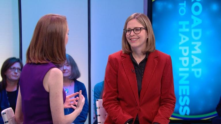 Roadmap To Happiness with Gretchen Rubin: Elizabeth Calls Her Sister A Bully In A Good Way