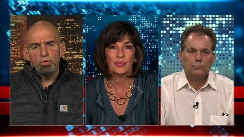 Amanpour and Company -- John Fetterman and Lee Van Horn on Fracking in Swing States