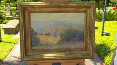 Maurice Braun Landscape Oil, ca. 1920