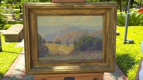 S24 E14: Maurice Braun Landscape Oil, ca. 1920