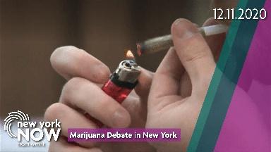 Marijuana Debate in New York