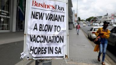 South Africa battles to contain a mutant strain of COVID-19