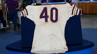 Appraisal: Gale Sayers Game-worn Jersey, ca. 1969