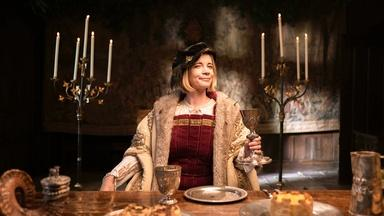 Lucy Worsley Helps Prepare Classic Tudor Recipes