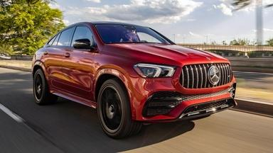 2021 Mercedes-Benz GLE 53 Coupe & 2020 Chevrolet Silverado