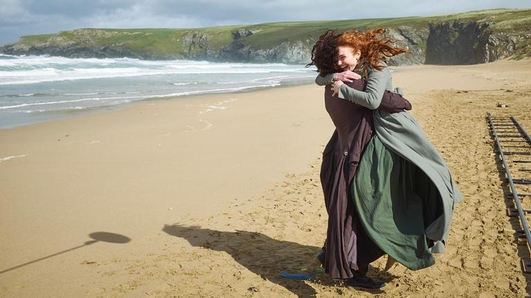 Poldark: The Cast on Cornwall
