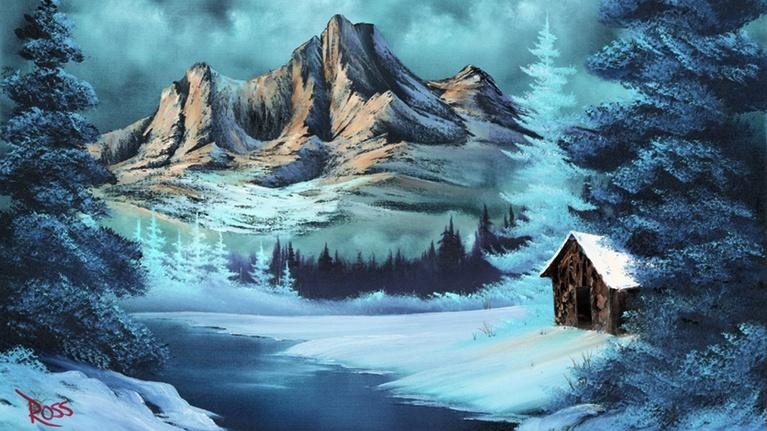The Best of the Joy of Painting with Bob Ross: Mountain Seclusion